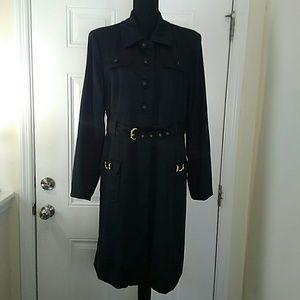 Bushwacker black belted coat